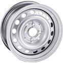 TREBL 64A45R 6x15/4x100 ET45 D54,1 silver