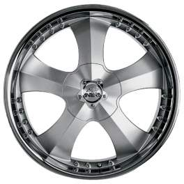 Antera 341 9.5x20/5x130 ET52 D71.6 Silver