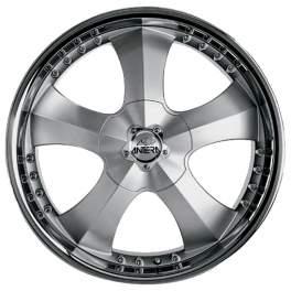 Antera 341 9.5x20/5x120 ET40 D72.6 Silver