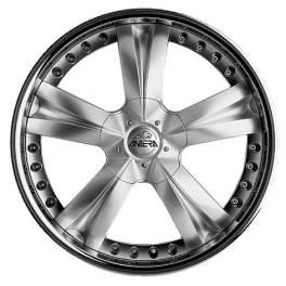 Antera 345 9.5x20/5x120 ET55 D65.1 Silver