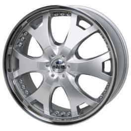 Antera 361 8.5x18/5x120 ET35 D74.1 Silver