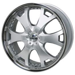 Antera 361 9.5x20/6x139.7 ET12 D110.1 Silver