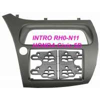 Переходная рамка HONDA Civic 06+, 2-DIN (H/B 5D) (RHO-N11)