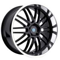 Beyern Mesh 8.5x18/5x120 ET30 D72 Gloss Black