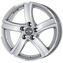 Alutec Shark 7x17/4x98 ET35 D58.1 Sterling Silver