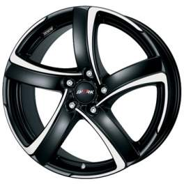 Alutec Shark 6x15/5x100 ET40 D57.1 Racing black polished