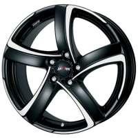 Alutec Shark 6x16 / 4x108 ET25 DIA65,1 Racing black front polished