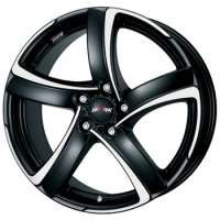 Alutec Shark 7,5x17 / 5x114,3 ET47 DIA70,1 Racing black front polished