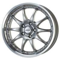 Alutec Kyro 8.5x19/5x120 ET38 D76.1 Sterling Silver