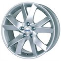 Alutec Lazor 7x17/4x100 ET38 D63.3 Polar Silver