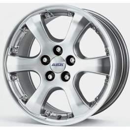 Alutec Leon 8x17/5x100 ET35 D63.3 Sterling Silver