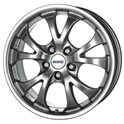 Alutec Nitro 7.5x17/5x100 ET38 D63.3 Sterling Silver