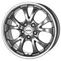 Alutec Nitro 7.5x17/5x120 ET38 D72.6 Sterling Silver