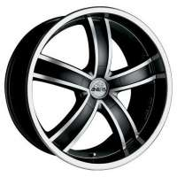 Antera 381 9.5x20/5x112 ET52 D66.6 Diamant black front and lip polished