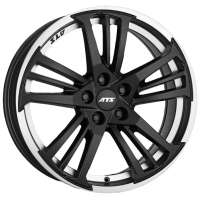 ATS Prazision 7.5x17/5x112 ET45 D70.1 Racing Black Double lip polished