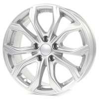 Alutec W10 9x20/5x120 ET43 D72.6 Polar Silver