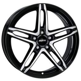 Alutec Poison 7x16/5x114.3 ET38 D70.1 Diamant Black Polished