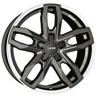 ATS Temperament 9.5x20/6x139.7 ET15 D106.1 Blizzard Grey Lip Polished