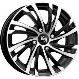 K&K Мейола 6x15/4x100 ET45 D54.1 алмаз черный