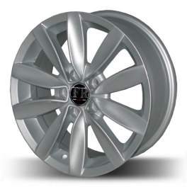 FR replica VW015 6.5x15/5x100 ET38 D57.1 Silver