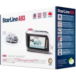 Сигнализация с автозапуском StarLine A93