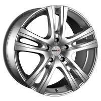 MAK Aria 8x18/6x130 ET55 D84.1 Silver