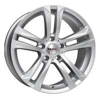 MAK Bimmer 8x17/5x120 ET30 D72.6 Silver