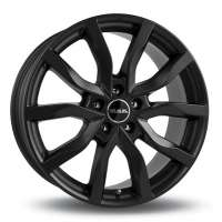 MAK Highlands 7x17/5x108 ET45 D63.4 Matt Black