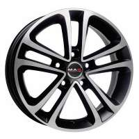 MAK Invidia 8x17/5x105 ET40 D56.6 Ice Black