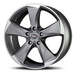 MAK Raptor5 10.5x20/5x120 ET35 D76 Graphite Mirror Face