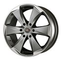 MAK Raptor6 9x20/6x139.7 ET30 D112 Graphite Mirror Face