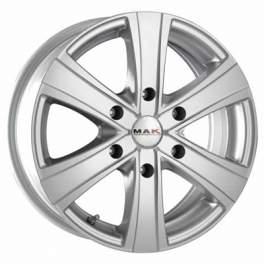 MAK Van6 6.5x16/6x139.7 ET20 D106.1 Silver