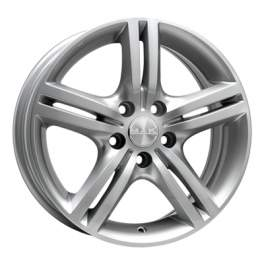 MAK Veloce Italia 7.5x17/5x114.3 ET48 D76 Silver