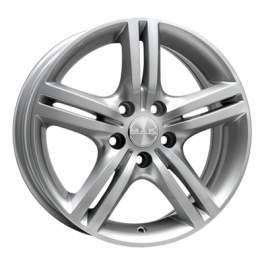 MAK Veloce Italia 7x17/5x105 ET40 D56.6 Silver