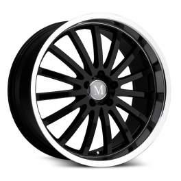 Mandrus Millenium 8.5x18/5x112 ET43 D66.6 Gloss Black